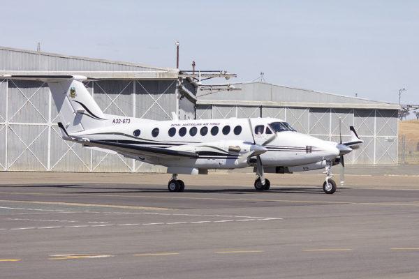 Beechcraft Super King Air 300.