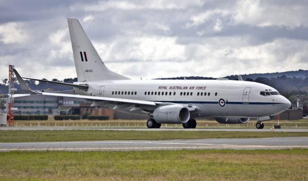 Boeing 737-700BBJ.