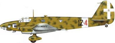 Profil couleur du Caproni Bergamaschi Ca.309 Ghibli