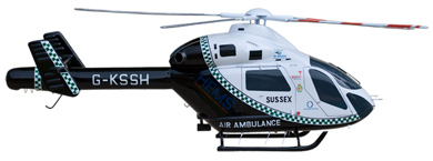 Profil couleur du MD Helicopter MD-900 Explorer