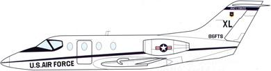 Profil couleur du Beechcraft T-1 Jayhawk