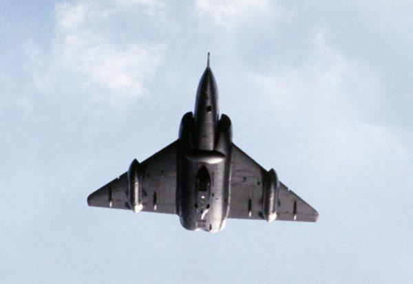Sentiment de puissance à la vue de ce Mirage IVA.