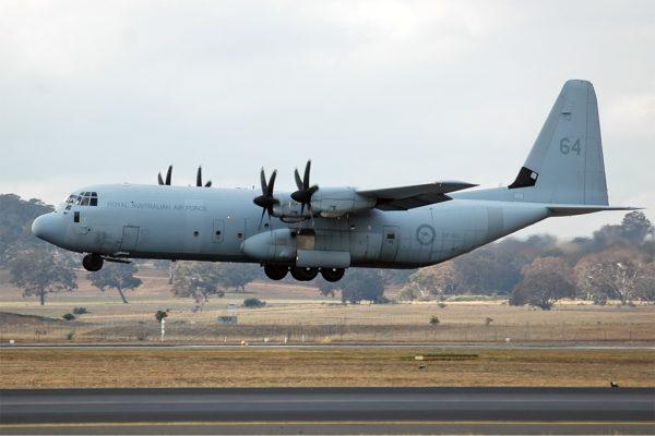 Lockheed-Martin C-130J-30 Hercules.