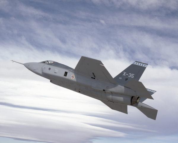Lockheed-Martin X-35, aux origines du Lightning II.