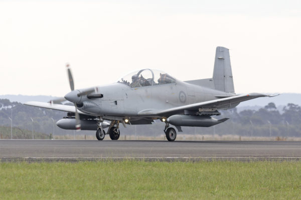 Pilatus PC-9A.