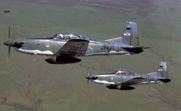 Pilatus PC-7U Turbo Trainer.