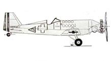 Plan 3 vues du Bloch MB.81