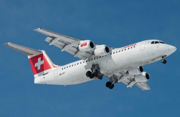 Swiss avro rj100