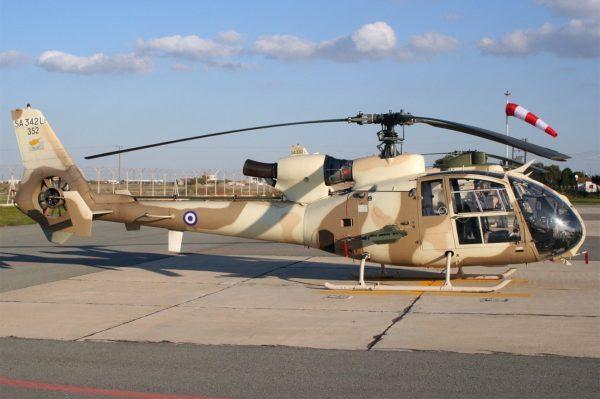Aérospatiale Gazelle-Chypre_Wikimédia