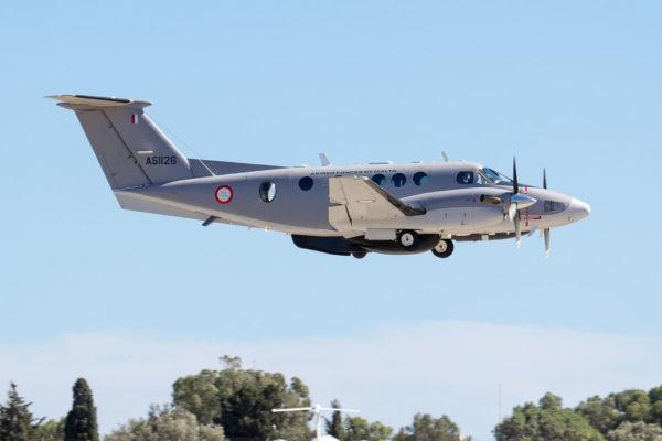 Beechcraft King Air 200-Malte_Wikimédia