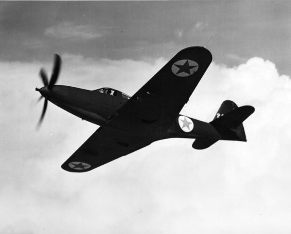 Le Bell P-63A dans sa version originale.