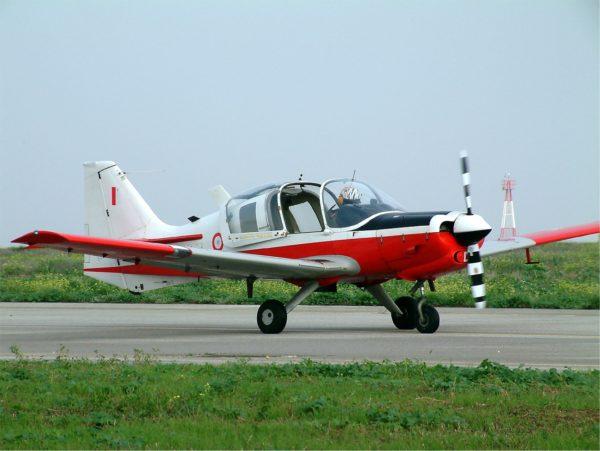 Scottish Aviation Bulldog-Malte_Wikimédia