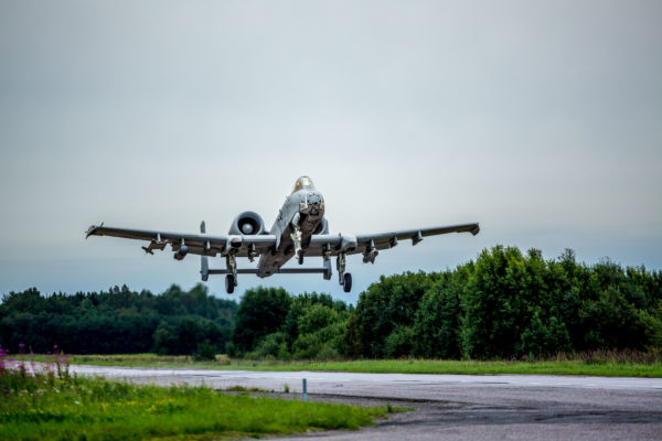 A-10 Warthog.route Estonie.sujet1_OTAN