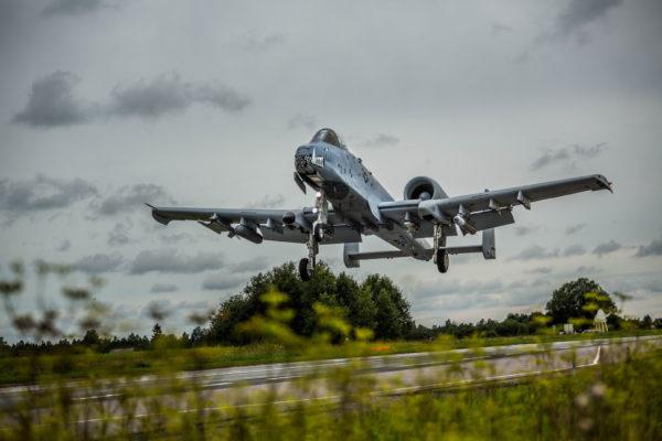 A-10 Warthog.route Estonie.sujet2_OTAN