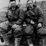 Le capitaine John Alcock et le lieutenant Arthur Whitten Brown