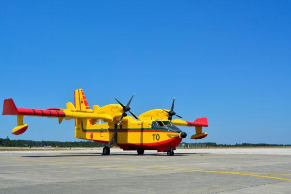 Sur le tarmac portugais de la BA5 de Monte Real.