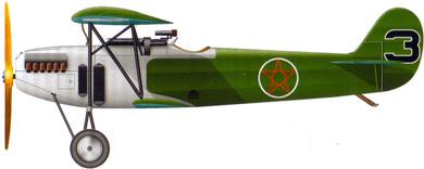 Profil couleur du Fokker D.XI