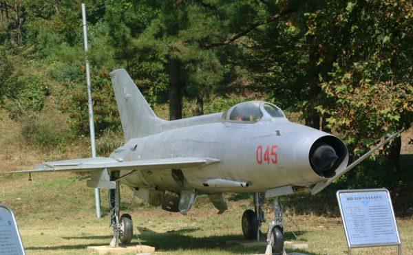 ce Chengdu J-7 chinois est désormais une pièce de musée.