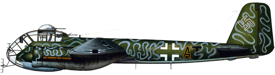 Profil couleur du Junkers Ju 188