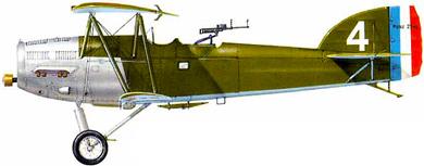 Profil couleur du Potez 25