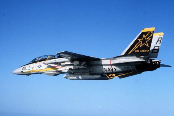 Grumman F-14 Tomcat.