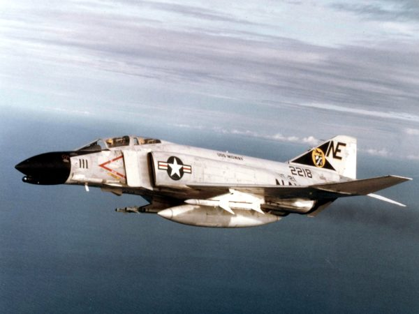 McDonnell F-4B Phantom II.