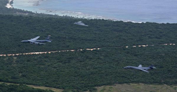 Avec seulement trois avions différents, une démonstration de force absolue.