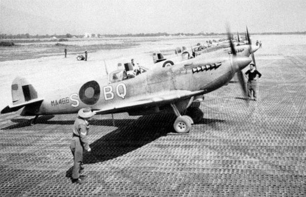 USS Corsica 451_Squadron_Poretta_May_1944_Spitfire_Mk_IXc_