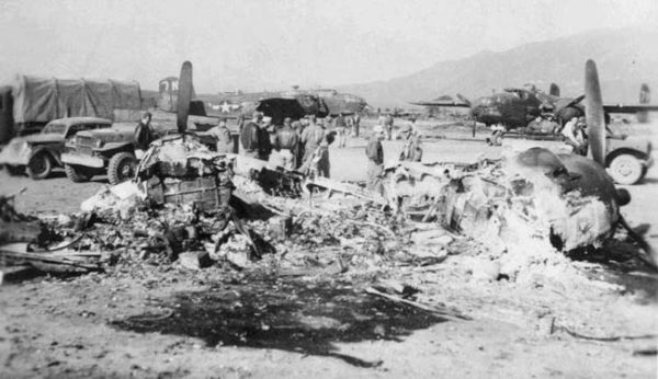 USS Corsica Alesani mai 1944