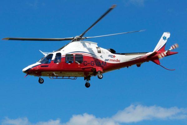 Agusta AW-109SP d'Airmedic