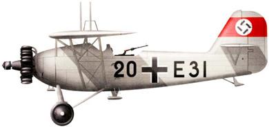 Profil couleur du Heinkel He 46