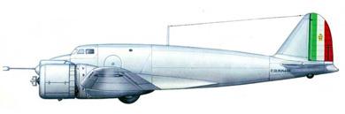 Profil couleur du Piaggio P.111