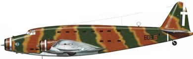 Profil couleur du Savoia-Marchetti SM.82 Canguru