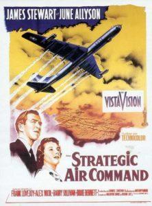 """L'affiche du film """"Strategic Air Command"""""""