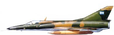 Profil couleur du I.A.I. Nesher / Dagger