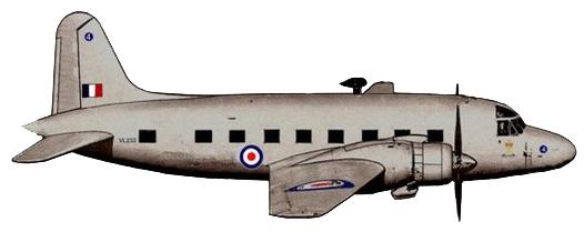 Profil couleur du Vickers Viking / Valetta / Varsity