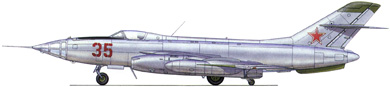 Profil couleur du Yakovlev Yak-27 'Mangrove'
