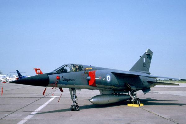 Mirage F1 grec dans sa livrée ultime.