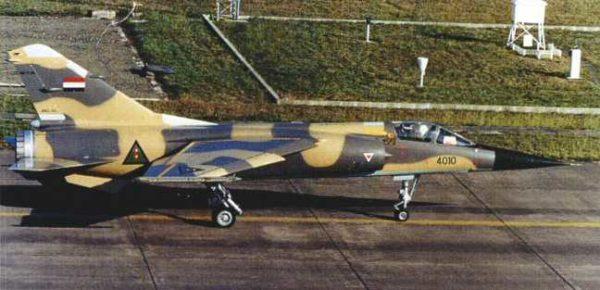 Mirage F1-EQ dans sa livrée irakienne.
