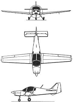 Plan 3 vues du Beagle Bulldog