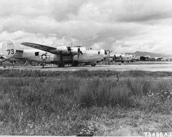 Les Liberator du 7th B.G., Panagarh Airfield, Inde