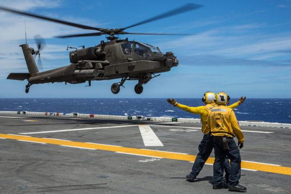 McDonnell Douglas AH-64E Apache.