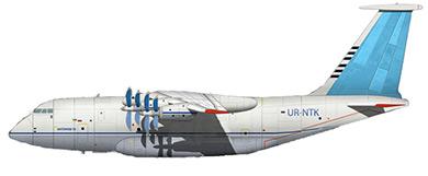 Profil couleur du Antonov An-70
