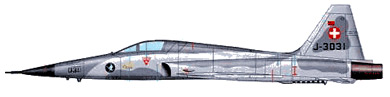 Profil couleur du Northrop F-5E/F Tiger II