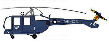 Profil couleur du Sikorsky HO5S