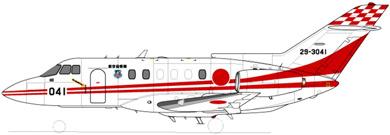 Profil couleur du Hawker-Siddeley HS-125 Dominie