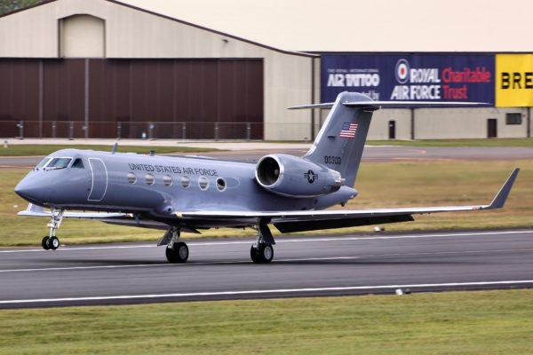 Gulfstream C-20H.