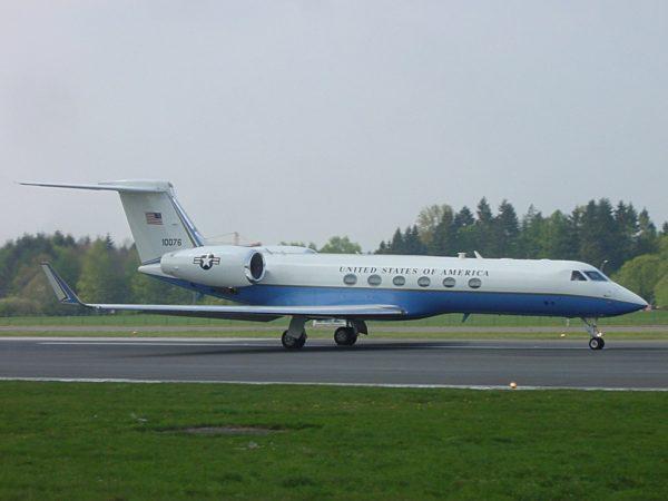 Gulfstream C-37A.