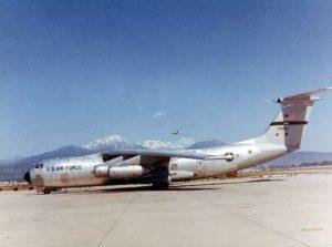 Lockheed C-141A Starlifter.