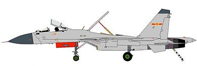 Profil couleur du Shenyang J-15 'Flanker-D+'
